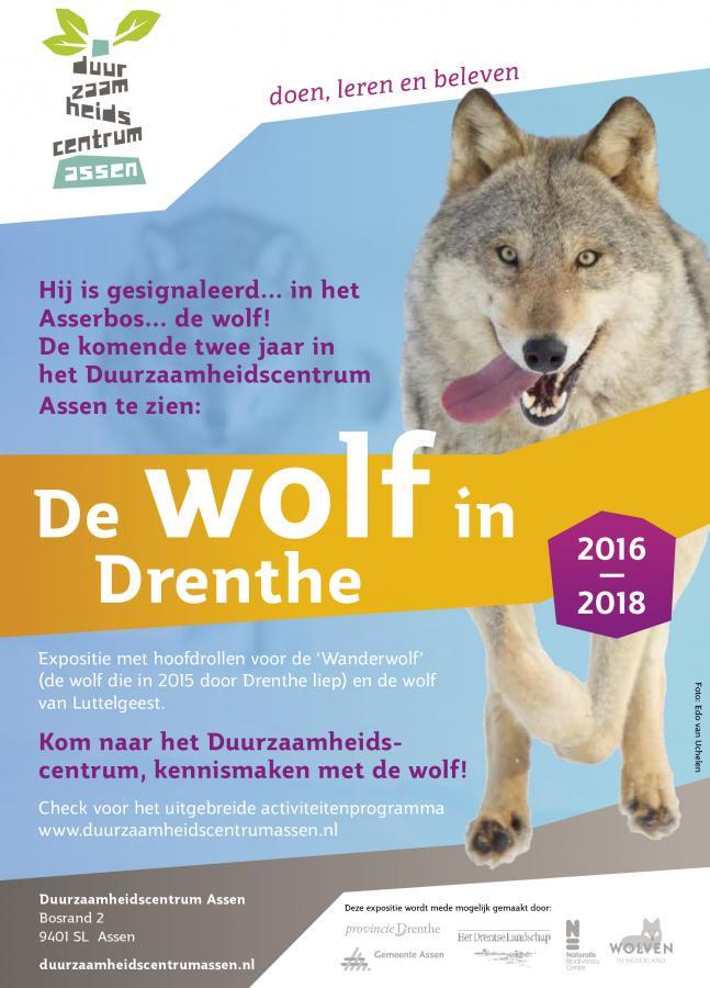 Tentoonstelling Wolf in Drenthe